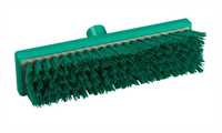 RESIN-SET Schrubber, 300 x 75 mm, 44 x 0,75 mm sehr harte Borsten, grün