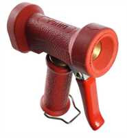 """Restposten: DINGA Waschpistole, rot, Eingang 1/2"""" IG, max. 24 bar, max. 50°C"""