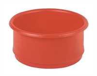 Behälter, ineinander stapelbar, 18 Liter, 425 x 180 mm, rot