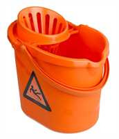 Moppeimer, Polypropylen, 12 Liter, orange