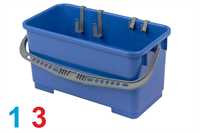Eimer, Polypropylen, 25 Liter, blau