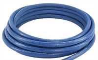 """Umwickelter Schlauch, einfache Drahteinlage, blau, 3/8"""", Meterware"""