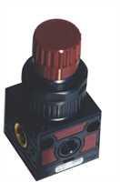 """Luftventil für Schaumbehälter Aus- und Eingang 1/4"""" IG, Eingang für Druckluftmanometer 1/8"""" IG"""