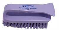 Scheuerbürste mit Griff, 152 x 60 mm, 28 x 0,6 mm harte Borsten, violett