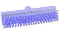 Restposten: RESIN-SET Schrubber, 300 x 75 mm, 41 x 0,6 mm harte Borsten, violett