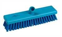 Schrubber, 300 x 75 mm, 44 x 0,75 mm sehr harte Borsten, blau