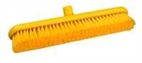 Restposten: RESIN-SET Kehrbesen, flach, 457 x 75 mm, 57 x 0,2 mm sehr weiche Borsten, gelb