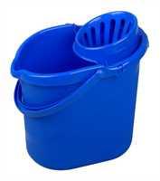 Moppeimer, Polypropylen, 12 Liter, blau