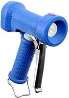 """NITA Waschpistole, Edelstahl/Kunststoff, extra-leicht, blau, Eingang 1/2"""" IG, max. 12 bar, max. 50°C"""