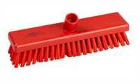Schrubber, 300 x 75 mm, 44 x 0,75 mm sehr harte Borsten, rot