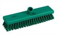 Schrubber, 300 x 75 mm, 44 x 0,75 mm sehr harte Borsten, grün