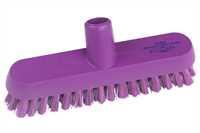 Restposten: ANTI-MICROBIAL Schrubber, 230 x 50 mm, 38 x 0,6 mm harte Borsten, lila